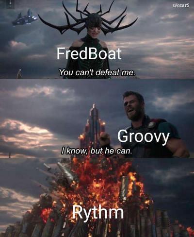 FredBoat vs. Groovy vs. Rythm meme