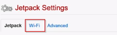 Verizon Jetpack Mifi Jetpack Settings WiFi tab