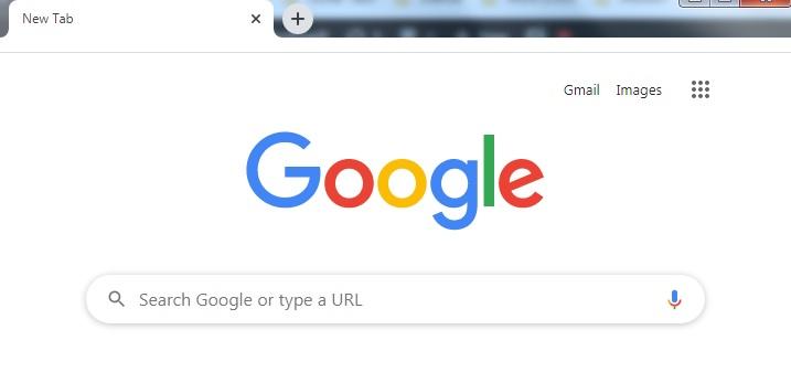 Address bar Missing in Chrome