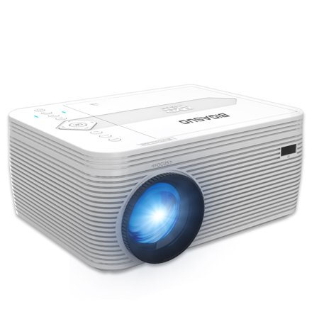 BIGASUO Projector With Built in DVD Player