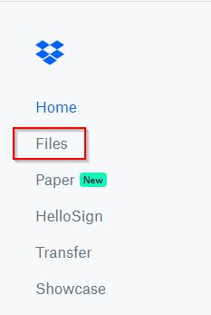 Dropbox Files Link
