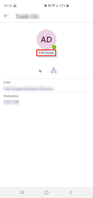 Microsoft Teams Mobile Edit Image