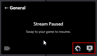 Discord Streaming Preview Window