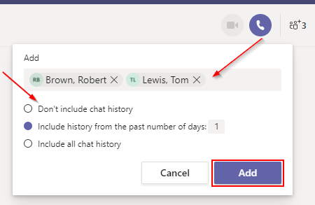 Microsoft Teams Add Multiple People to Group Chat