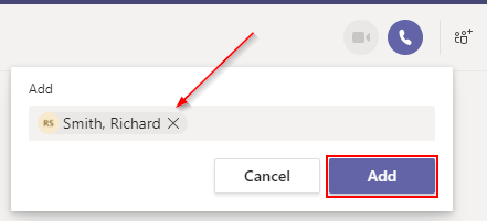 Microsoft Teams Add Someone to One-on-One Chat