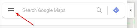 Google Maps Menu Icon