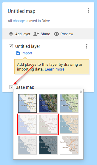 Remove Labels Google My Maps