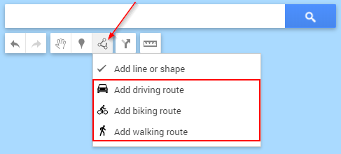 Google My Maps Add Route