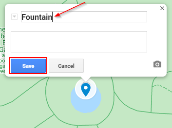 Google My Maps Add and Save Point