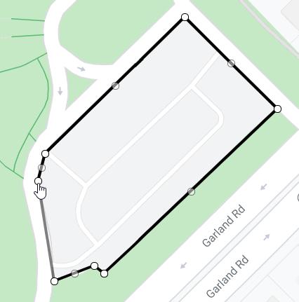 Google My Maps Draw Shape