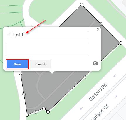 Google My Maps Save Shape