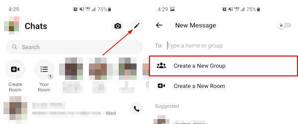 Facebook Messenger Mobile App