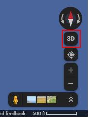 Google Maps 3D View Button